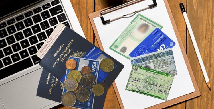 quais documentos necessarios para tirar o passaporte