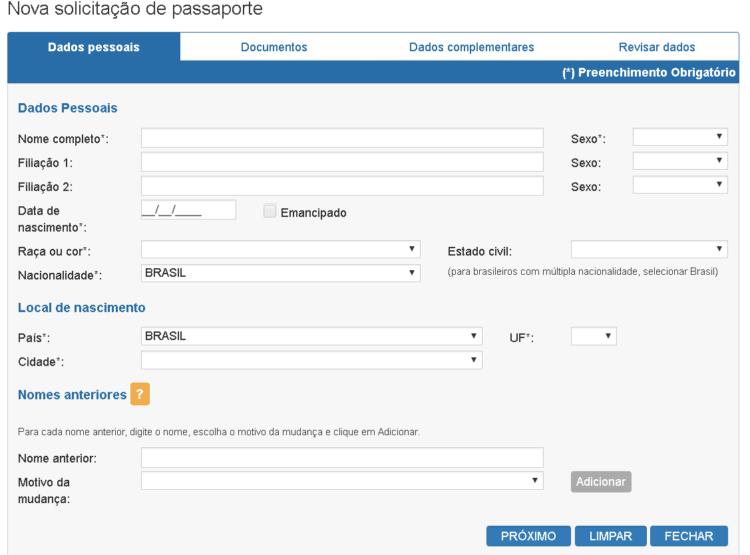 passaporte brasileiro novo