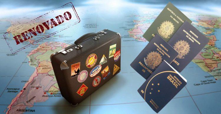como faço para renovar o passaporte