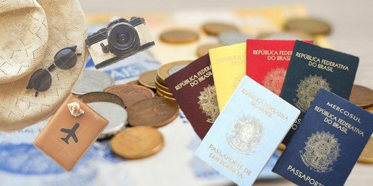 Passaporte tirar valor