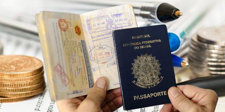 valor para tirar primeiro Passaporte